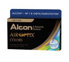 Купить <b>контактные линзы</b> AIR OPTIX COLORS (2 линзы) по ...
