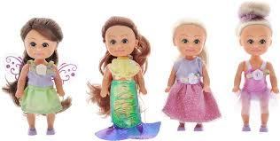 Funville <b>Набор</b> мини-<b>кукол Маленькие</b> друзья 4 шт — купить в ...