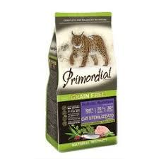 <b>Сухой корм Primordial</b> для стерилизованных кошек беззерновой ...