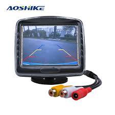 <b>AOSHIKE</b> 3.5 Screens For <b>Car</b> With <b>Vehicle Camera</b> Parking 12V ...