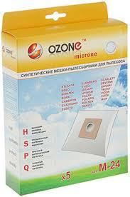 <b>Мешки</b>-<b>пылесборники Ozone M-24</b> синтетические для пылесоса ...