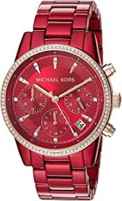 Red - Wrist Watches / Watches: Clothing, Shoes ... - Amazon.com