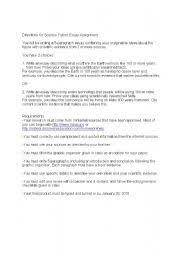 thumbjpg english teaching worksheets science english worksheets science fiction essay assignment