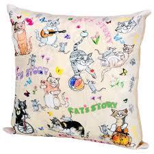 <b>Подушка декоративная Gift'n'Home</b> Cats'n'Mouse 35х35 см (PLW ...