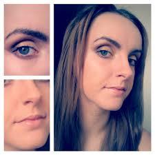makeup for deep set eyes gold tones