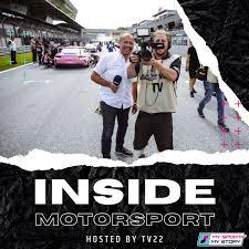 Inside Motorsport Podcast powered by TV22