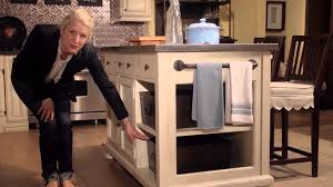 Paula Deen Kitchen Cabinets Paula Deen Home River House Kitchen Island From Universal