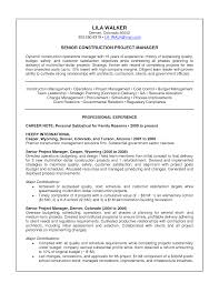 construction sample resume  seangarrette cosenior construction project manager resume letter with professional experience ms word format   construction sample resume