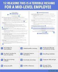 non profit professional resume entry level net developer resume terrible resume for a mid level employee business insider entry level net developer resume sample entry