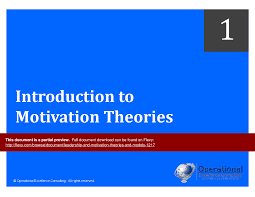 leadership motivation theories models powerpoint