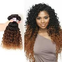 #<b>1B</b>/<b>30</b> Brazilian Hair Bundle Deals <b>Ombre</b> Brazilian Deep <b>Curly</b> ...