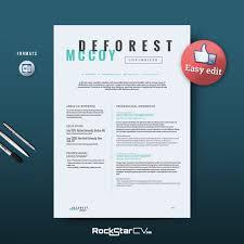 Copywriter Resume Template by Resume Templates on Creative Market
