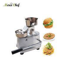 <b>ITOP</b> 100mm-130mm <b>Manual Hamburger</b> Press <b>Burger</b> Forming ...