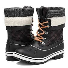 ALEADER <b>Women's Fashion</b> Waterproof Winter <b>Snow Boots</b>