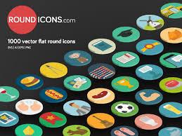 1000 flat vector icons set by ramy wafaa dribbble basic icons flat icons 1000