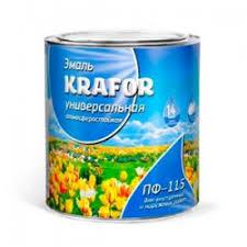 Отзывы о <b>Универсальная алкидная эмаль</b> KRAFOR ПФ-115