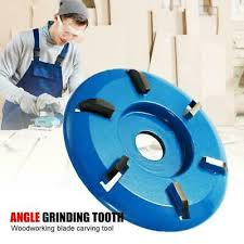 90mm 6Teeth <b>Woodcarving Disc</b> Tool For Angle Grinder Milling ...