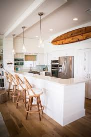 beach house kitchen stainless steel