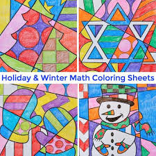 Small Picture Use these fun and colorful Pop Art math fact coloring sheets