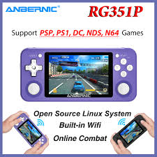 NEW <b>RG351P ANBERNIC Retro</b> Game Console Linux System PC ...