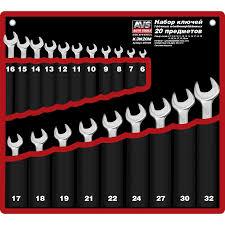 <b>Набор ключей</b> гаечных комбинированных в сумке <b>AVS</b> K3N20M ...