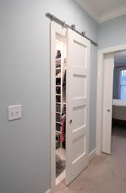 Closet Barn Doors Remodelaholic 35 Diy Barn Doors Rolling Door Hardware Ideas