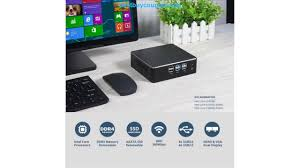 hly mini pc core i3 7100u i5 7200u 4210y fanless windows 10 hdmi 480gb ssd htpc tv box wifi usb micro computer