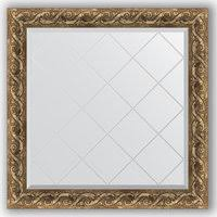 «<b>Зеркало с гравировкой Evoform</b> Exclusive-G 86x86 см, в ...