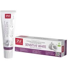 <b>Зубная паста</b> SENSITIVE <b>WHITE</b> серии SPLAT Professional