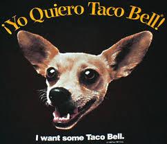 O Taco διαφημίζει...