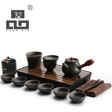 <b>TANGPIN black</b> crockery japanese <b>ceramic teapot</b> kettle tea cup for ...