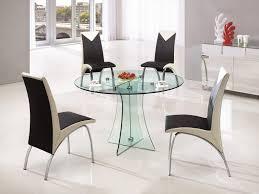 oak designer modern glass dining table