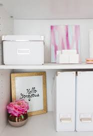 chic home office decor: bonnie bakhtiaris pink and chic home office office tour the office stylist