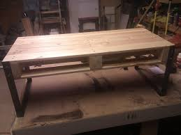pallet coffee table home