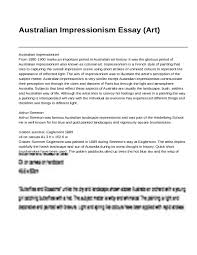 impressionism and post impressionism essay  impressionism and post impressionism essay