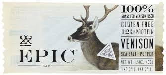 Epic - Bar - <b>Venison</b> - <b>Sea Salt</b> - Pepper , 1.5 OZ - Walmart.com ...