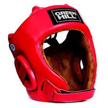 Боксерский <b>шлем Green Hill Five</b> Star одобренный AIBA красный ...