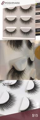 <b>3 Pairs Natural</b> Full Strip Lashes w/Applicator | Strip lashes, <b>Clothes</b> ...