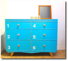 bright painted turquoise furniture bright painted furniture