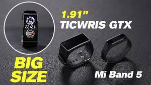 World's Biggest Smart Bracelet - <b>TICWRIS GTX</b> Review - YouTube