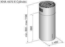 <b>Вытяжка Korting KHA 4970</b> X Cylinder – купить в Москве с ...