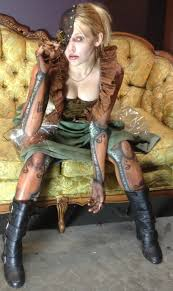 i m just a mechanical doll who wants to be a real girl album on costume by katie kaufman body paint by damien zimmerman