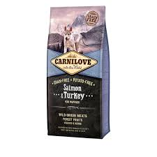 <b>CARNILOVE Salmon</b> & Turkey (<b>Puppy</b>) - <b>Carnilove</b>.co.uk