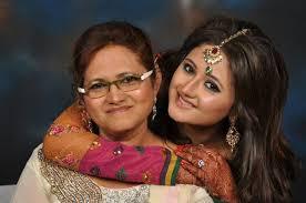 Photo of Rashmi Desai Sandhu  & her Mother  Rasila Ajay Desai
