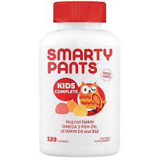 <b>Kid's Complete Multi</b>-Omega-Vitamin D (120 Gummies) by Smarty ...