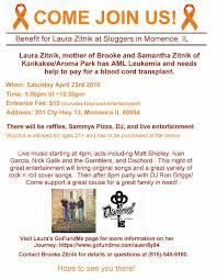 laura zitnik by brooke zitnik gofundme flyer you dont have to bring a copy