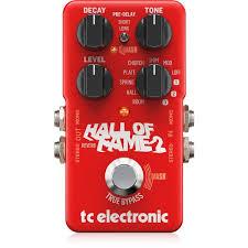 <b>TC Electronic</b> Hall of Fame 2 Reverb, купить <b>педаль</b> эффектов TC ...