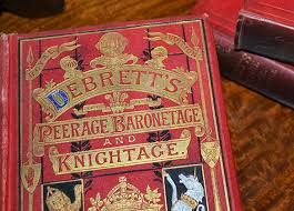 Image result for debrett's peerage