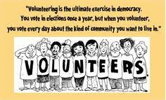 Volunteers on Pinterest | Make A Difference, School Volunteers and ... via Relatably.com