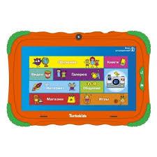 <b>Планшет</b> TURBOPAD <b>TurboKids S5 16Gb</b>, оранжевый — купить в ...